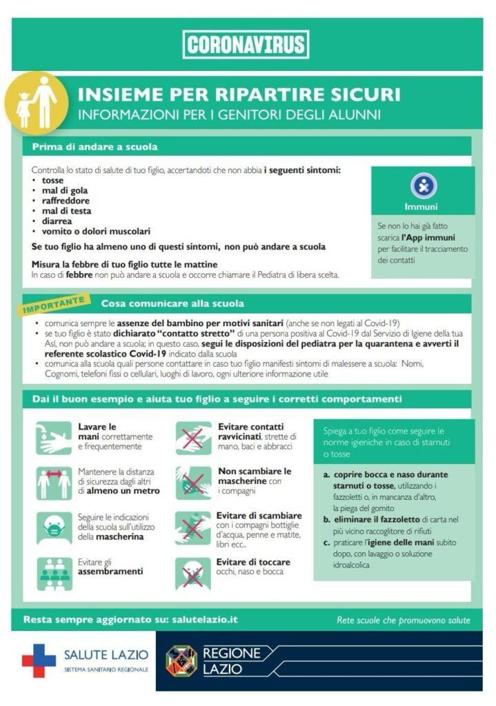 Coronavirus insieme per ripartire sicuri