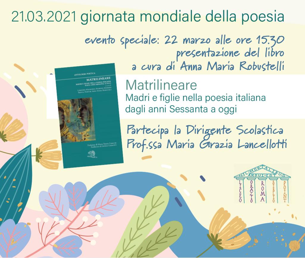 21 marzo 2021 giornata mondiale della poesia Bibliopoint